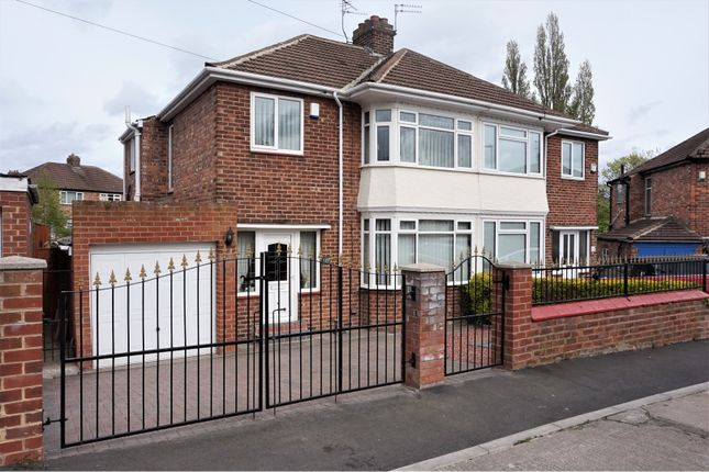 Thumbnail Semi-detached house for sale in Loweswater Crescent, Stockton-On-Tees