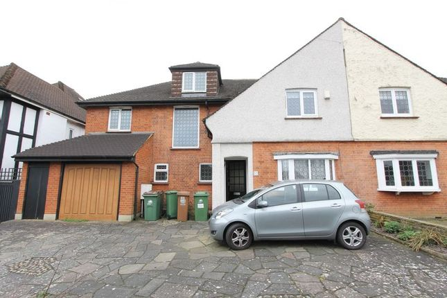 Thumbnail Semi-detached house for sale in Salisbury Avenue, Sutton