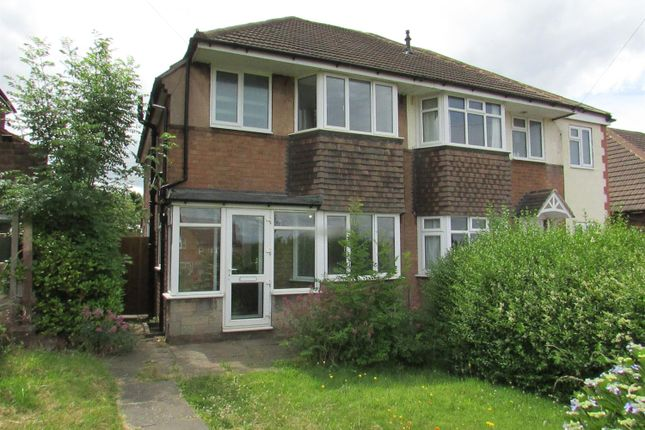 Thumbnail Semi-detached house to rent in Hedging Lane, Wilnecote, Tamworth