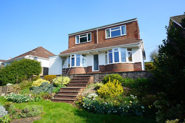 Thumbnail Detached bungalow for sale in York Place, Risca, Newport