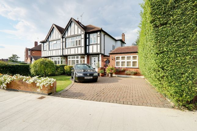 Thumbnail Semi-detached house for sale in Rodney Gardens, Pinner