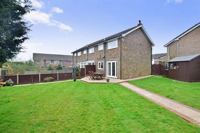 Thumbnail End terrace house for sale in Belvedere Gardens, Crowborough, East Sussex
