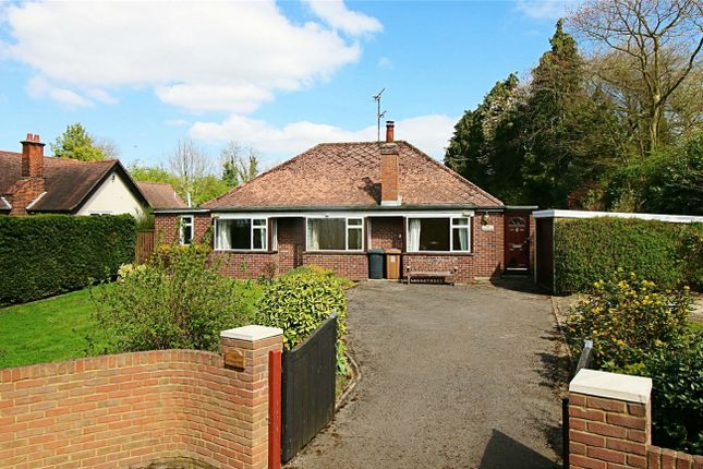 Thumbnail Detached bungalow for sale in Pye Corner, Gilston, Harlow, Hertfordshire