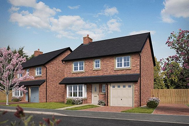 Thumbnail Detached house for sale in Willow Drive, Wrea Green, Preston