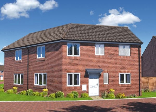 "Thumbnail 3 bedroom semi-detached house for sale in ""The Redcar"" at Wyndham Way, Pleasley, Mansfield"