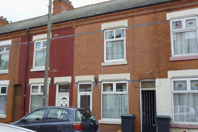Thumbnail Terraced house to rent in Moira Street, Belgrave, Leicester