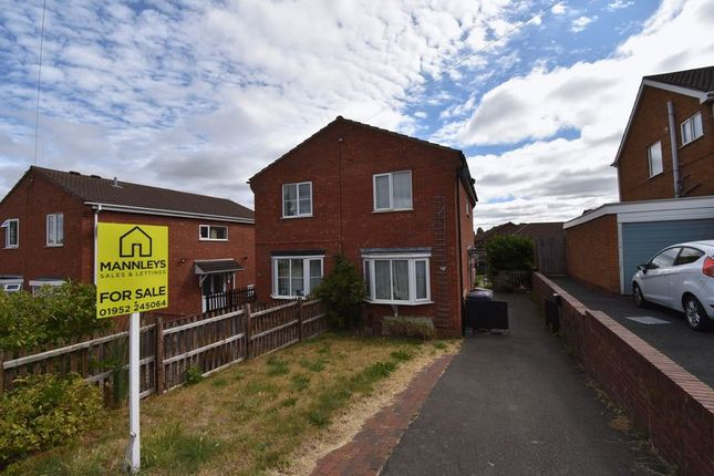 Thumbnail Semi-detached house for sale in 68 Hollies Road, Wellington, Telford