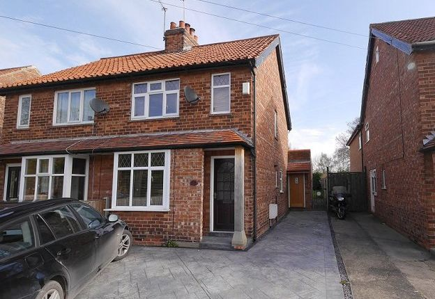 Thumbnail Semi-detached house to rent in Moor Lane, Strensall, York
