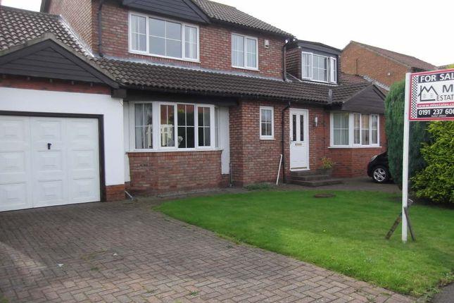Thumbnail Detached house for sale in Hatfield Drive, Seghill, Cramlington