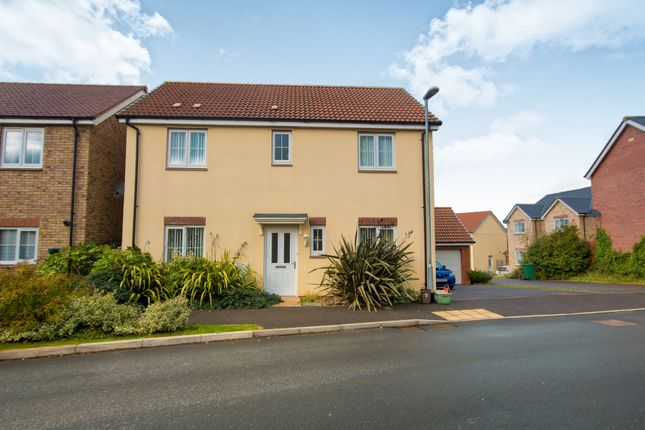 Thumbnail Detached house for sale in Shutewater Orchard, Bishops Hull, Taunton