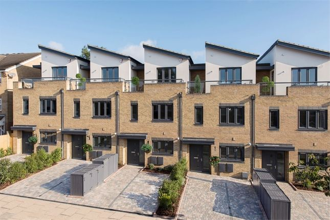 Thumbnail End terrace house for sale in The Mews, Vicars Moor Lane, Winchmore Hill, London