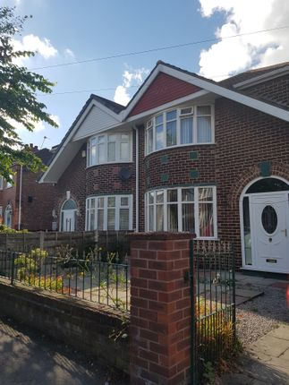 Thumbnail Semi-detached house to rent in Lincoln Avenue, Stretford Road