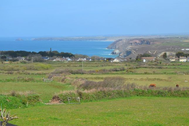 Thumbnail Detached bungalow for sale in Beacon Road, St. Agnes, Cornwall