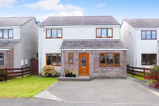 4 bed detached house for sale in Nant Y Glyn, Llanrug, Caernarfon LL55