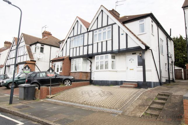 Thumbnail 3 bed semi-detached house for sale in Elmstead Avenue, Wembley