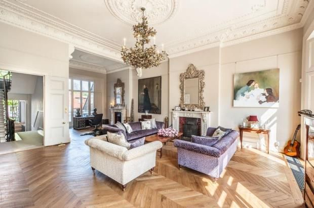 Drawing Room of Leinster Gardens, London W2