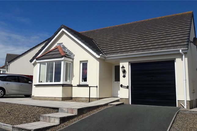 Thumbnail Detached bungalow for sale in Donovan Reed Gardens, Pembroke Dock, Pembrokeshire