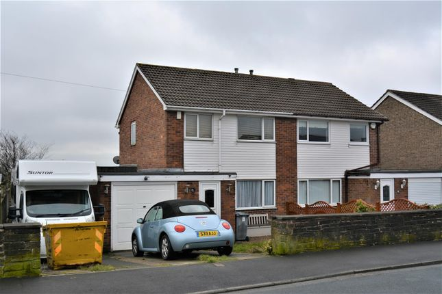 Thumbnail Semi-detached house for sale in Moorlands Road, Outlane, Huddersfield