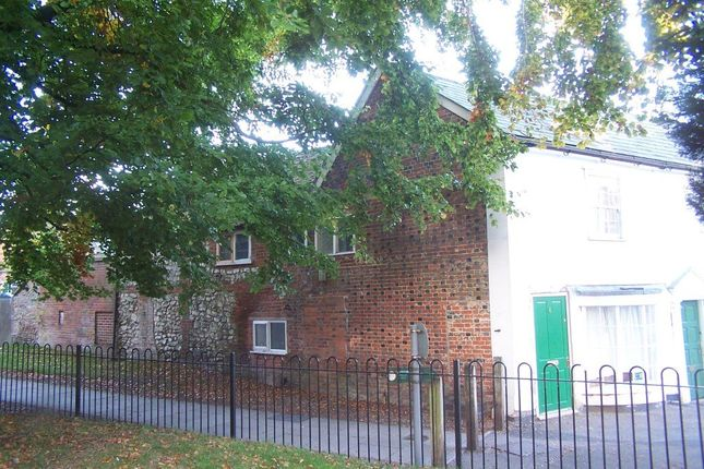 Thumbnail End terrace house for sale in Market Place, Lambourn, Hungerford