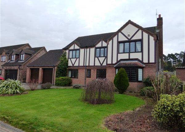 Thumbnail Detached house for sale in Goldcrest Close, Scunthorpe