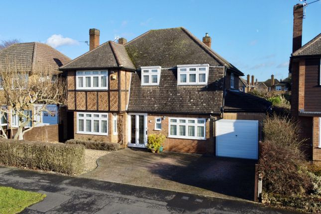 Thumbnail Detached house for sale in Launde Road, Oadby, Leicester