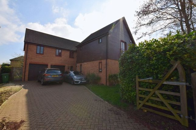 Thumbnail Detached house for sale in Angstrom Close, Shenley Lodge, Milton Keynes