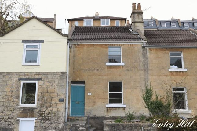 Thumbnail Terraced house to rent in Entry Hill, Bath