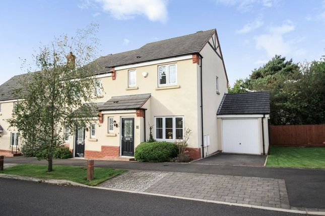 Thumbnail Semi-detached house for sale in Wenlock Rise, Bridgnorth