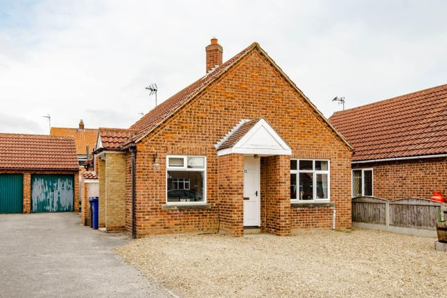 2 bed detached bungalow for sale in Tate Close, Wistow, Selby YO8