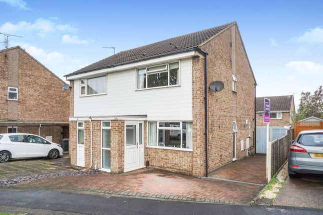 Thumbnail 2 bed semi-detached house for sale in Catterick Drive, Derby