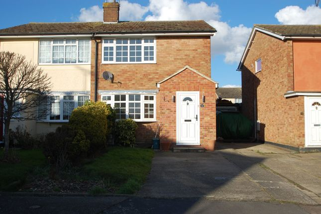 2 bed semi-detached house to rent in Bedford Close, Tiptree, Colchester