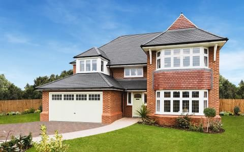 Thumbnail Detached house for sale in Carnegie Court, Park View, Bassaleg, Newport