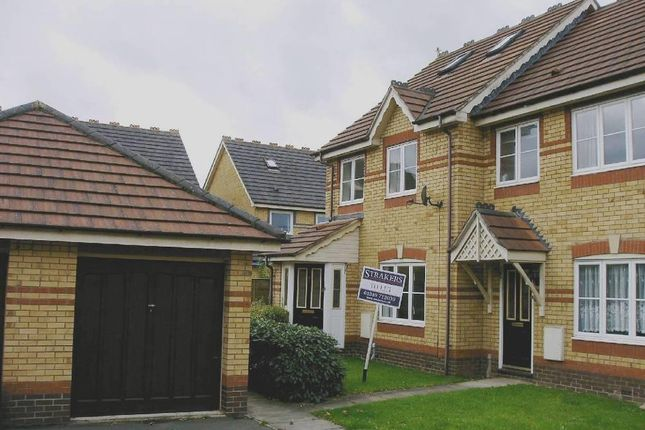 Thumbnail 3 bed terraced house to rent in Kingham Close, Chippenham