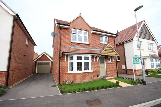 Thumbnail Detached house to rent in Ouzel Chase, Bracknell