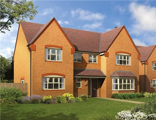 Thumbnail Detached house for sale in The Breedon, Pennycress Fields, Stoke Orchard, Cheltenham