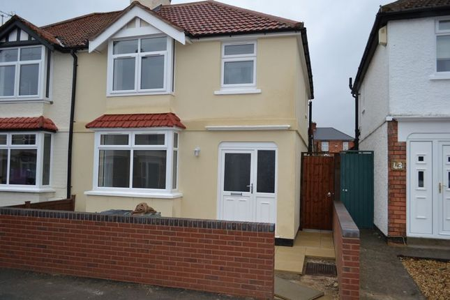 Thumbnail Semi-detached house to rent in Kitchener Avenue, Gloucester