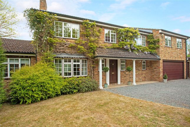 Thumbnail Detached house for sale in Walgrove Gardens, White Waltham, Maidenhead, Berkshire