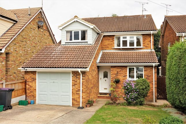Thumbnail Detached house for sale in Riverview Gardens, Hullbridge