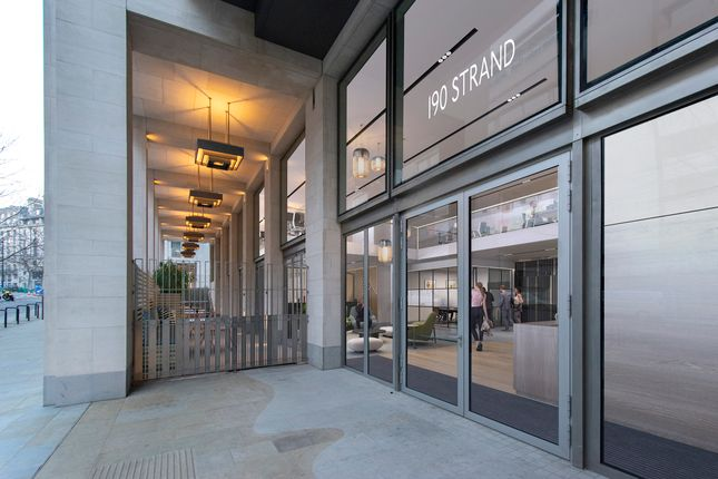 Thumbnail Office for sale in 190 Strand, Temple, London