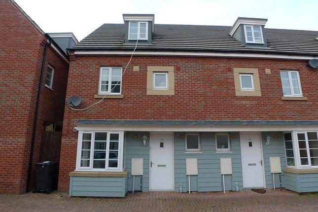 Thumbnail End terrace house to rent in Daisy Drive, Hampton Vale, Peterborough, Cambridgeshire.