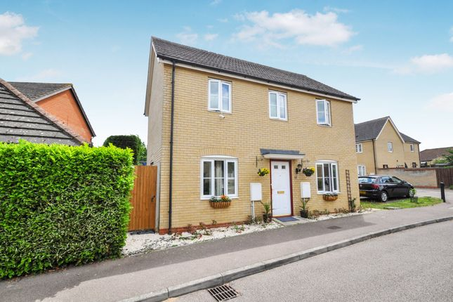 Thumbnail Detached house for sale in Christie Drive, Huntingdon