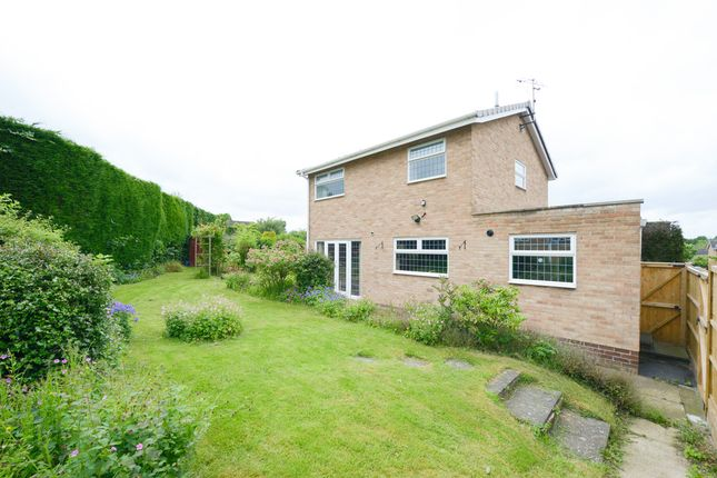 4 bed detached house for sale in Caernarvon Close, Walton, Chesterfield