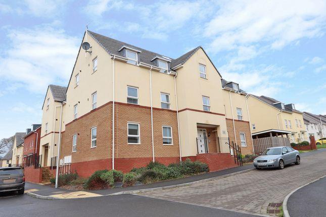 2 bed flat for sale in Longwool Run, Cullompton EX15