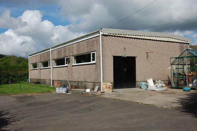 Thumbnail Commercial property for sale in Heol Cae Gurwen, Gwaun Cae Gurwen, Ammanford