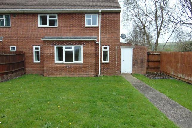 Thumbnail Semi-detached house to rent in Torridge Road, Chivenor, Barnstaple