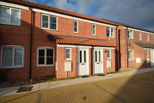 Thumbnail Terraced house to rent in Fuller Close, Lime Avenue, Oulton Broad, Suffolk