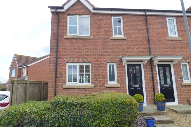 Semi-detached house for sale in Meadowfield, Burnhope, Durham