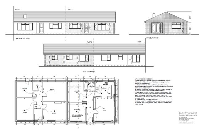 Thumbnail Terraced bungalow for sale in Parkwood Crescent, Hucclecote, Gloucester