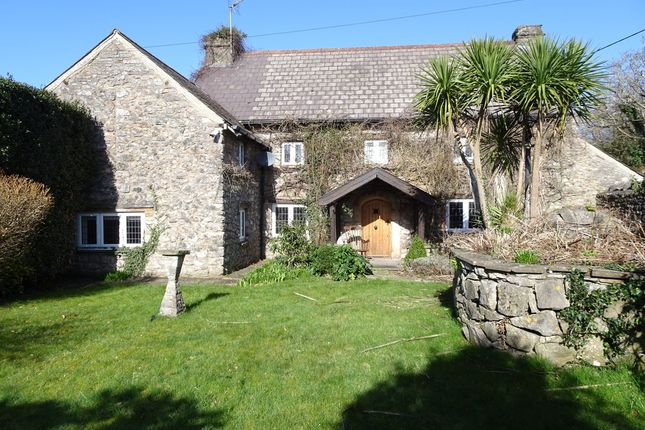4 bed detached house for sale in Old West Farmhouse, West Road, Nottage Village, Porthcawl CF36