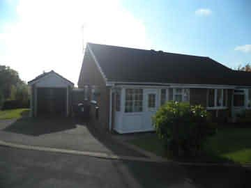 Thumbnail Semi-detached bungalow to rent in Bassett Close, Newhall, Sutton Coldfield